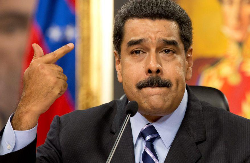 Nicolas Maduro (Foto AP)